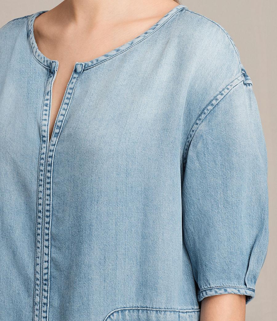 Womens Sherri Dress (mid_indigo_blue) - Image 4