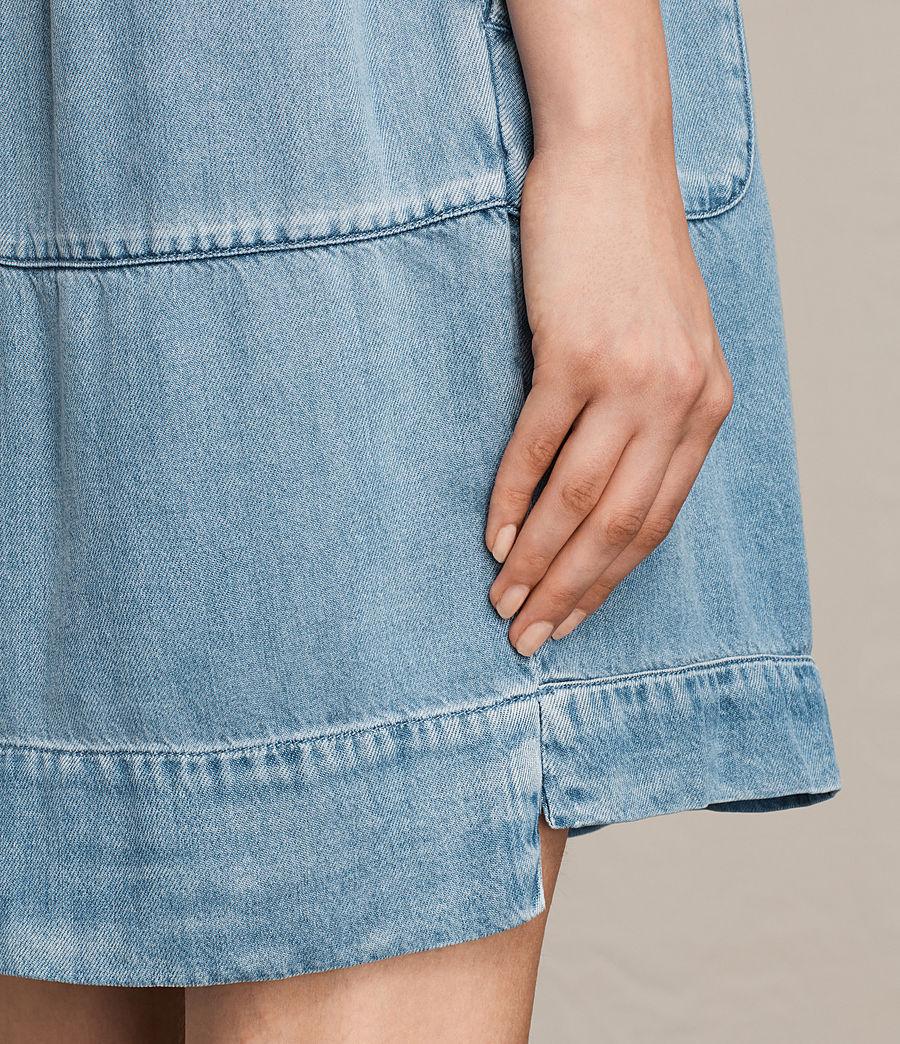 Womens Sherri Dress (mid_indigo_blue) - Image 5