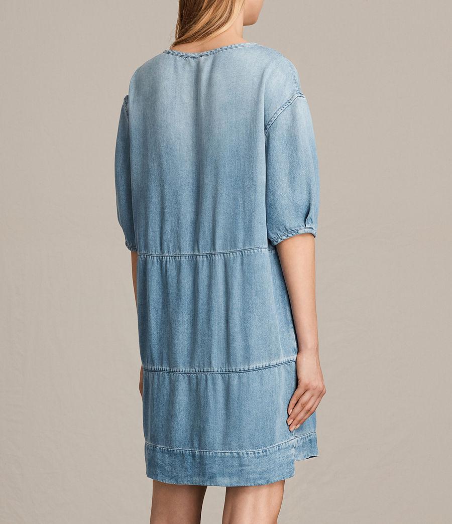 Womens Sherri Dress (mid_indigo_blue) - Image 6