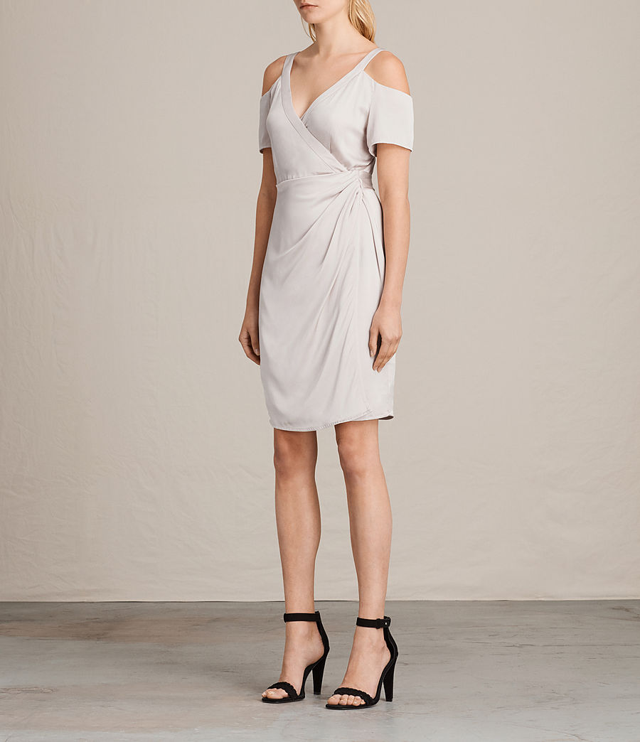 Womens Cadia Dress (champagne_pink) - Image 5