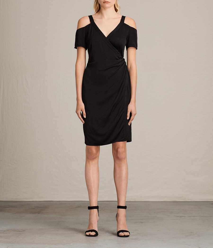 Women's Cadia Dress (black) - Image 1