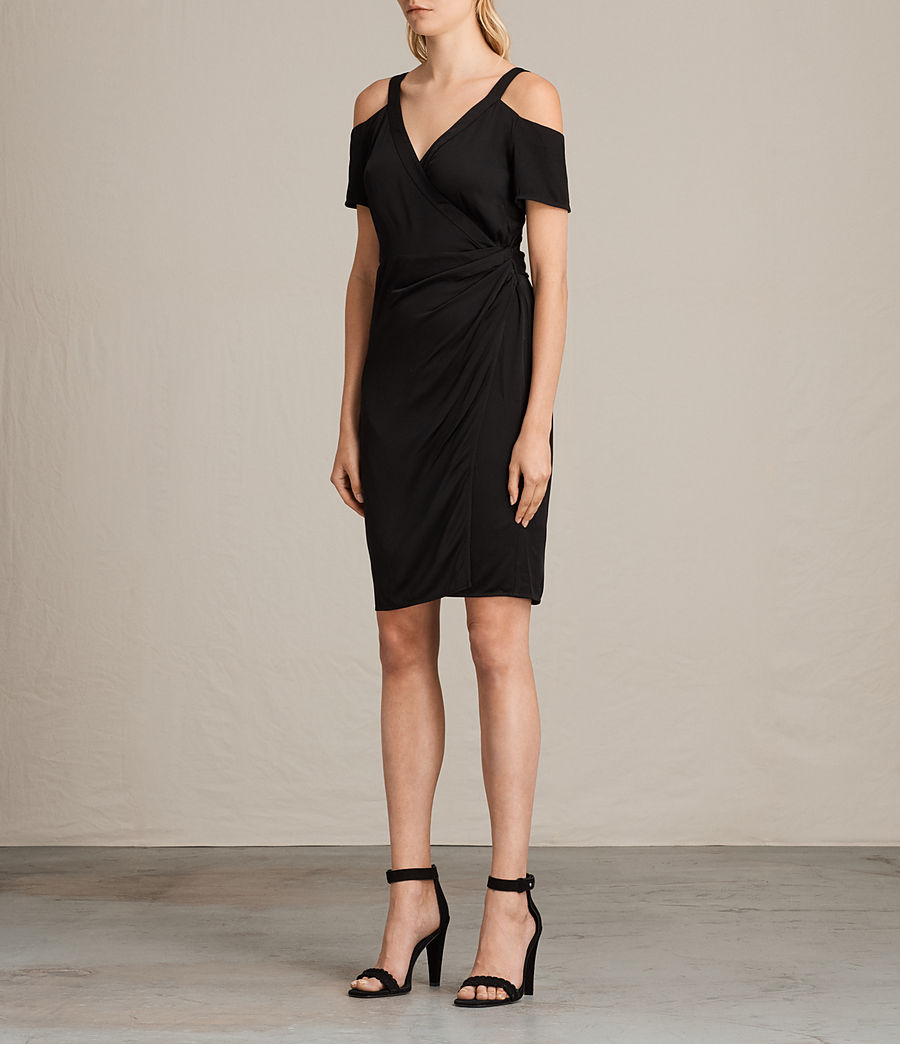 Women's Cadia Dress (black) - Image 2