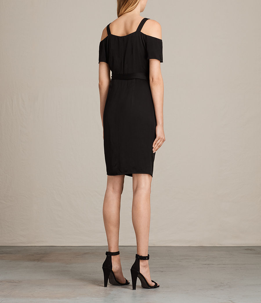 Women's Cadia Dress (black) - Image 6
