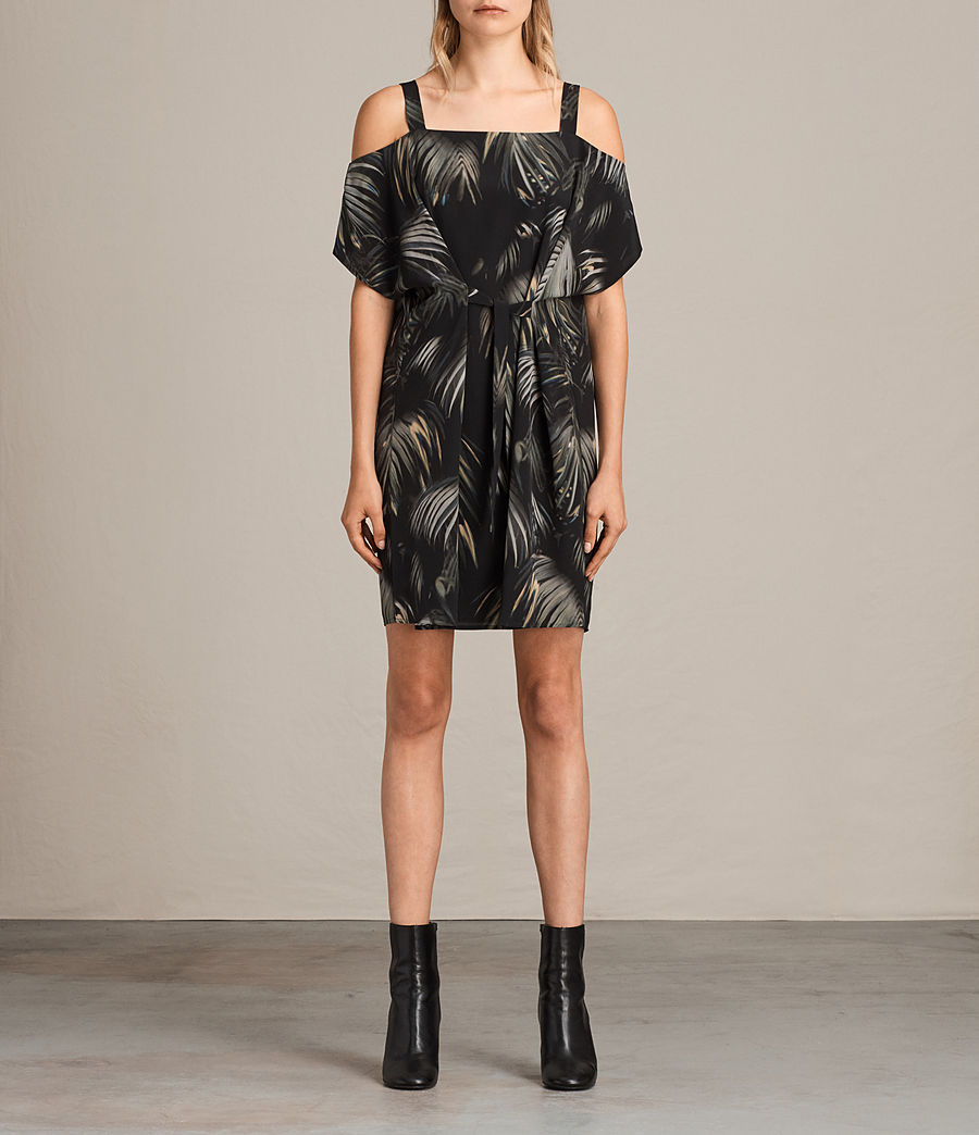 Womens Rae Neluwa Silk Dress (black) - Image 1