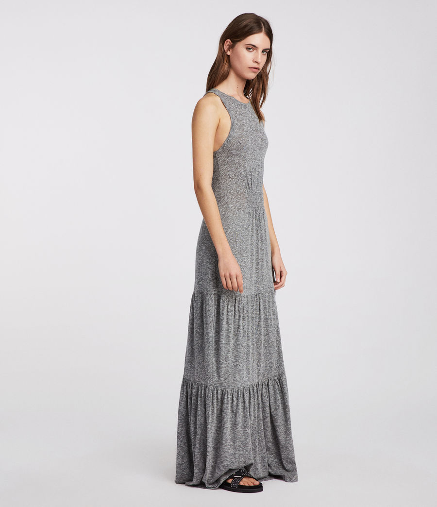 Womens Bello Dress (grey_marl) - Image 1