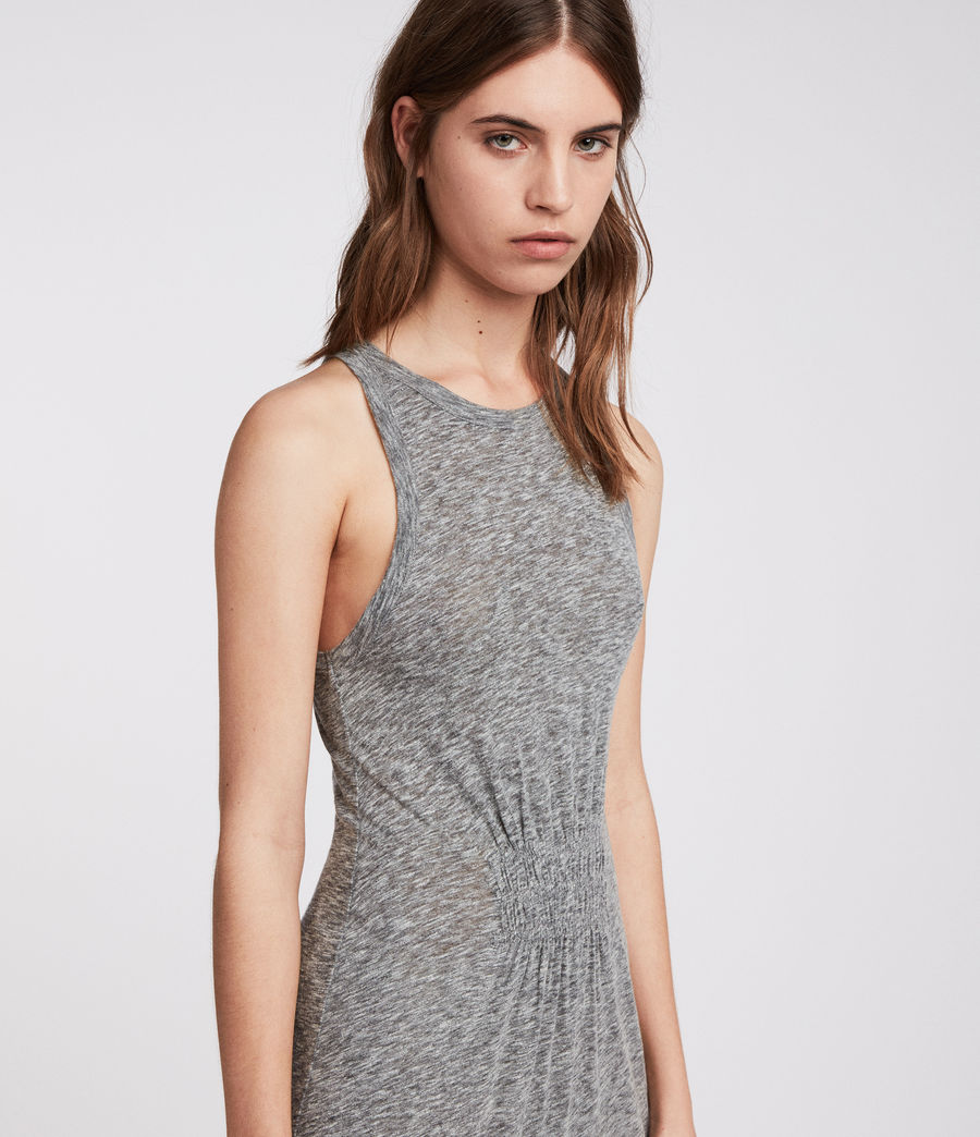 Womens Bello Dress (grey_marl) - Image 2