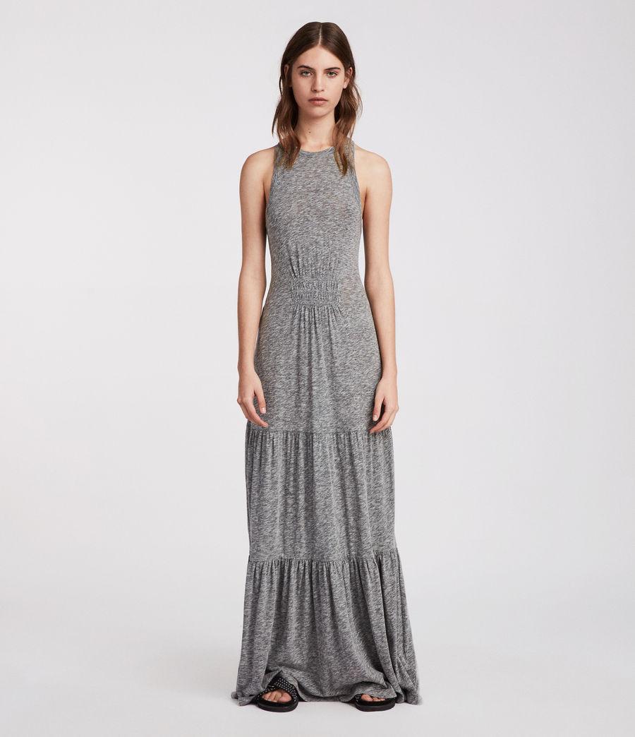 Womens Bello Dress (grey_marl) - Image 3
