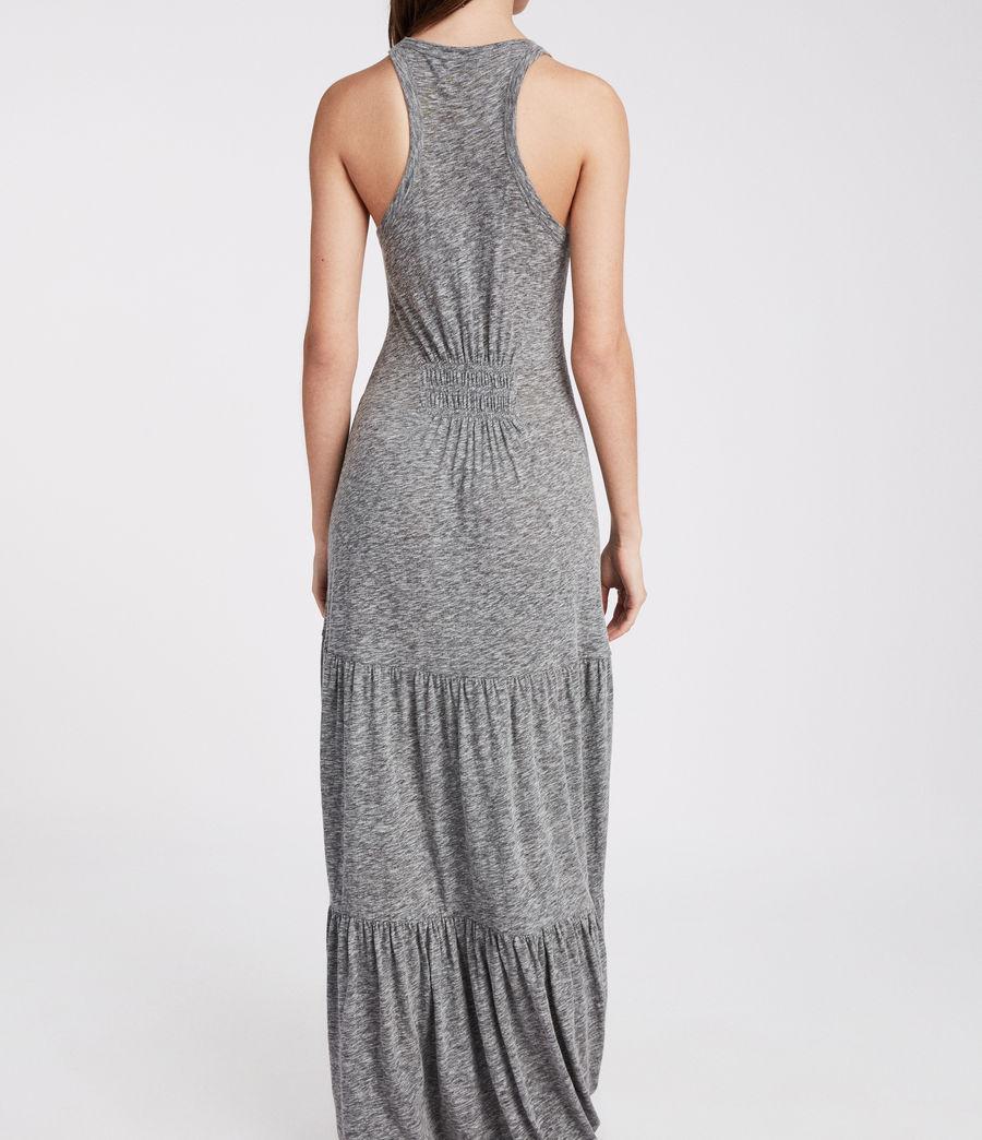 Womens Bello Dress (grey_marl) - Image 4