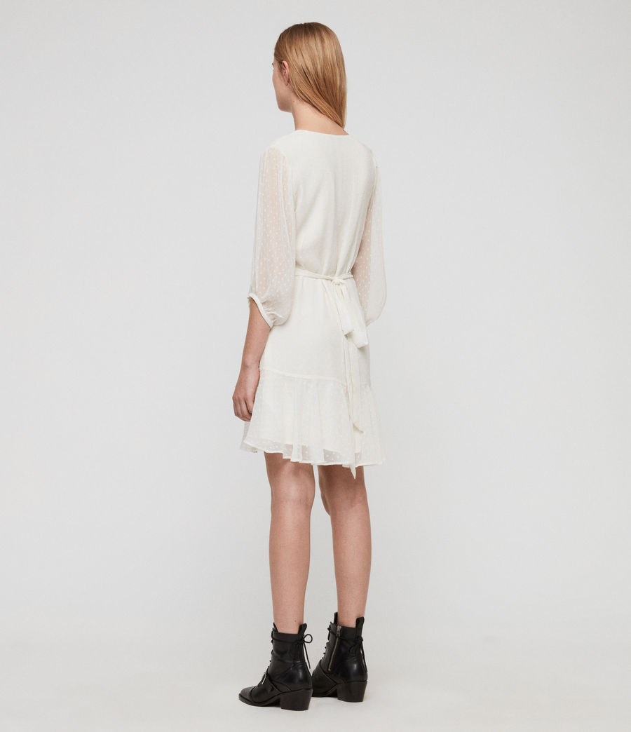 Women's Jade Dress (chalk_white) - Image 4