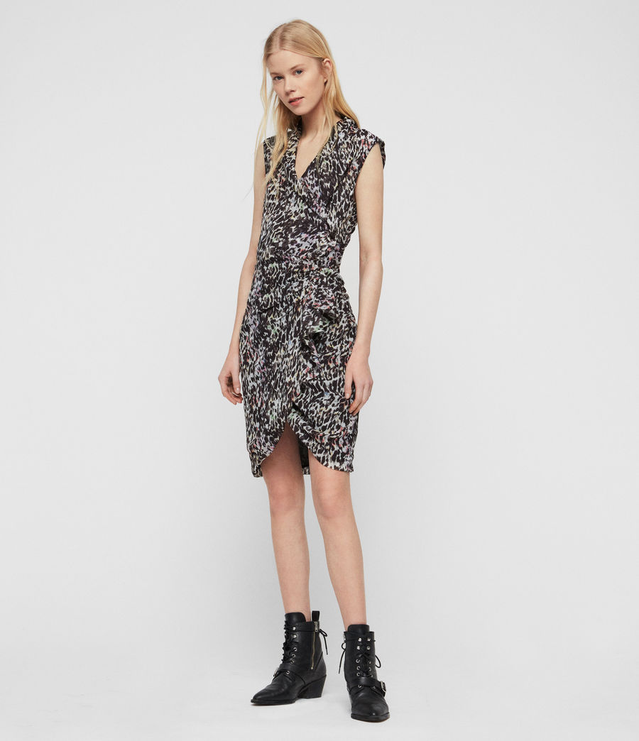 Women's Cancity Leofall Dress (black_multi) - Image 2