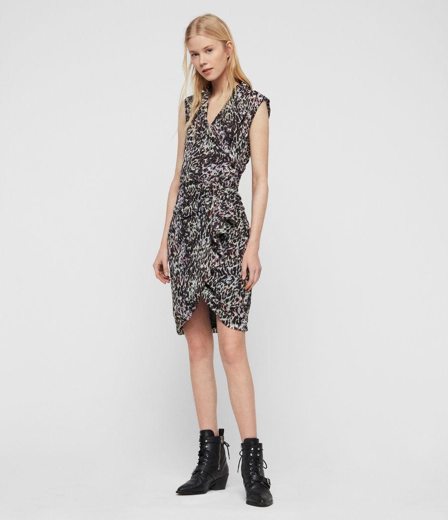Damen Cancity Leofall Kleid (black_multi) - Image 2