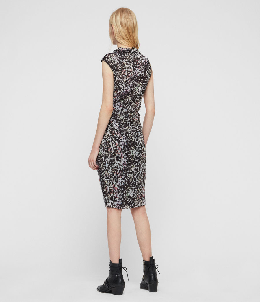 Women's Cancity Leofall Dress (black_multi) - Image 5