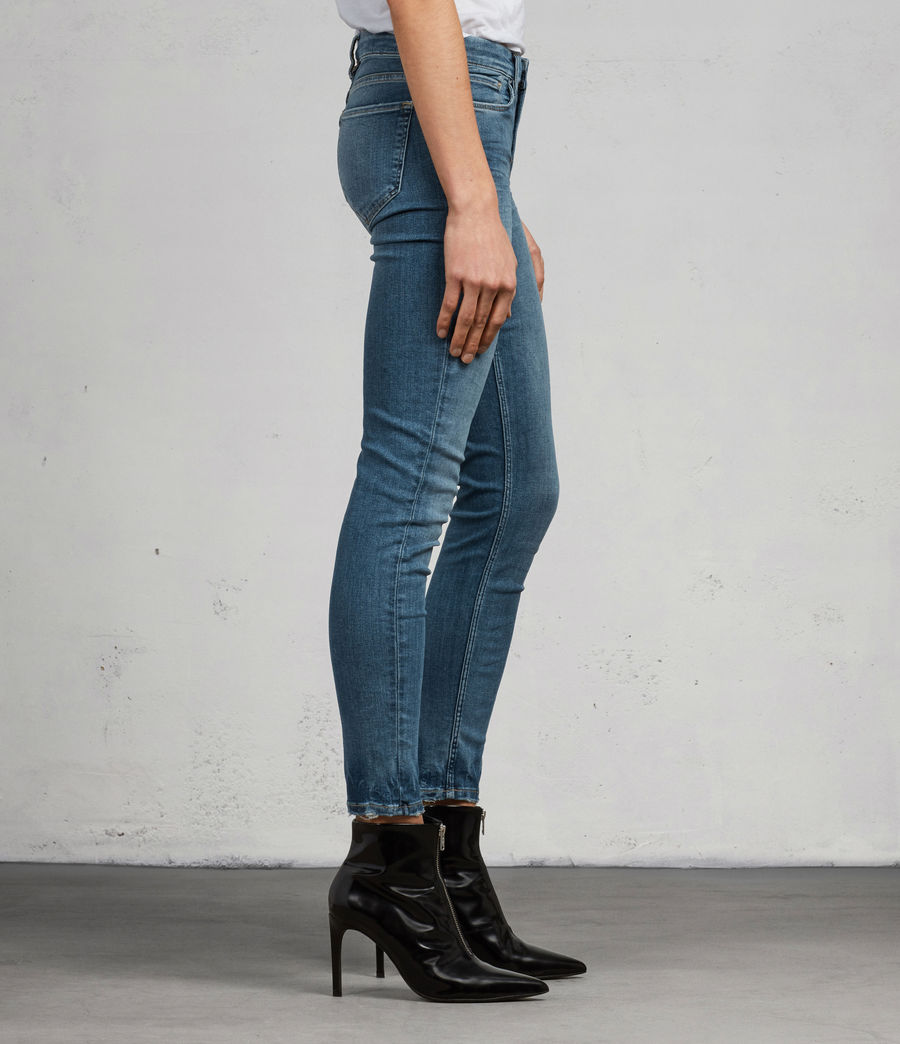 Women's Grace Ankle Skinny Jeans (fresh_blue) - Image 3