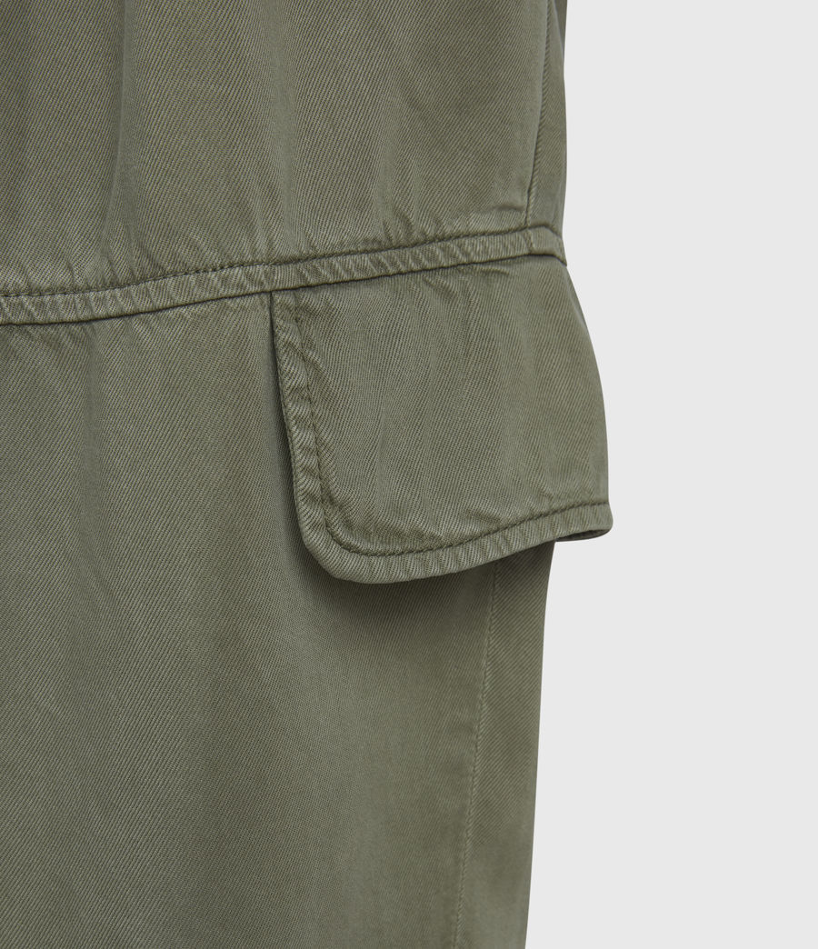 Womens Paxton High-Rise Pants (khaki_green) - Image 6