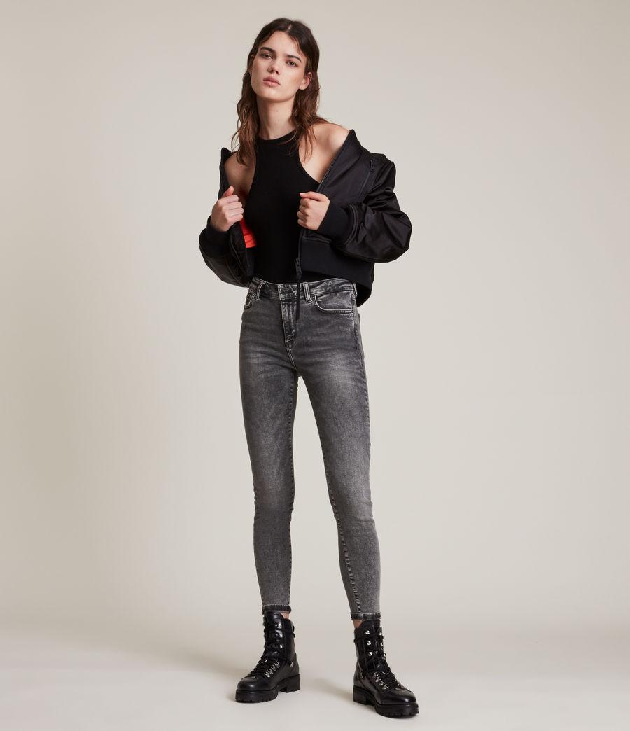 Women's Miller Mid Rise Size Me Jeans, Vintage Black (vintage_black) - Image 1