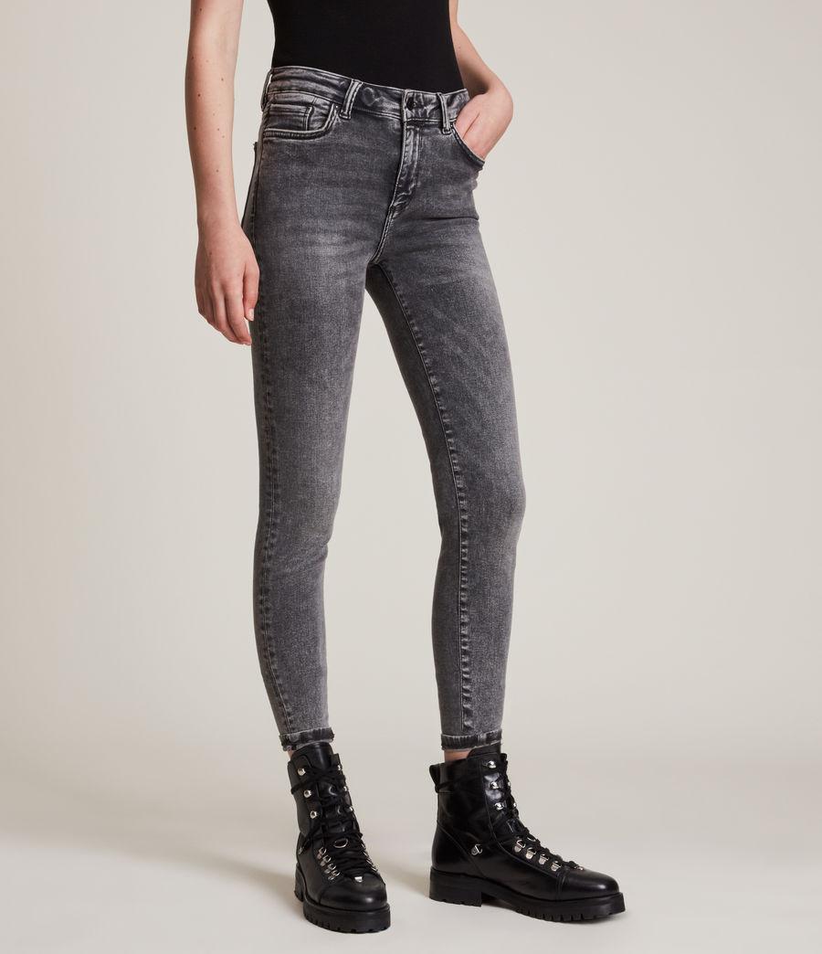 Women's Miller Mid Rise Size Me Jeans, Vintage Black (vintage_black) - Image 2