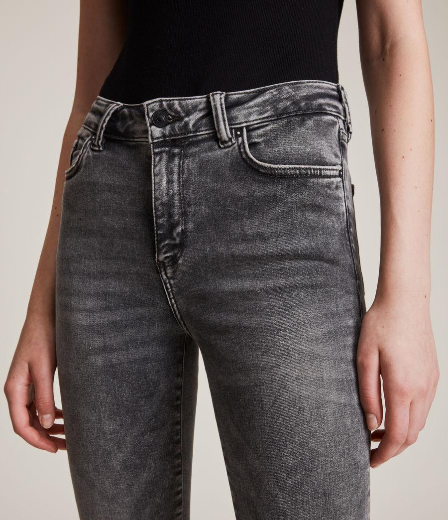 Women's Miller Mid Rise Size Me Jeans, Vintage Black (vintage_black) - Image 3