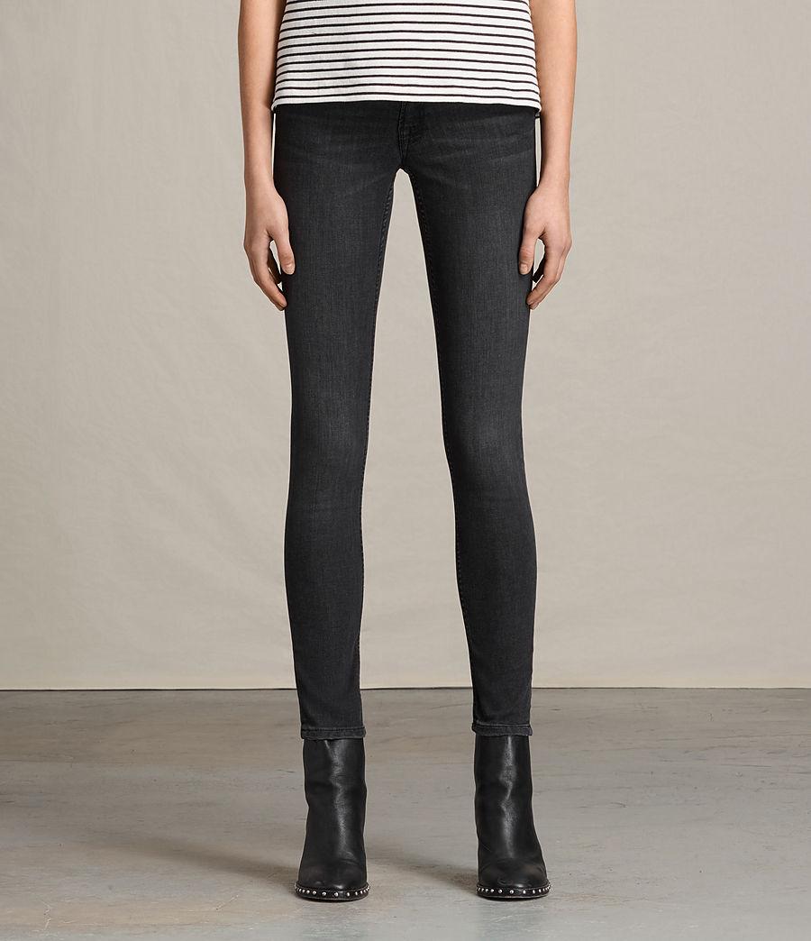 Womens Mast Jeans (mid_grey) - Image 1