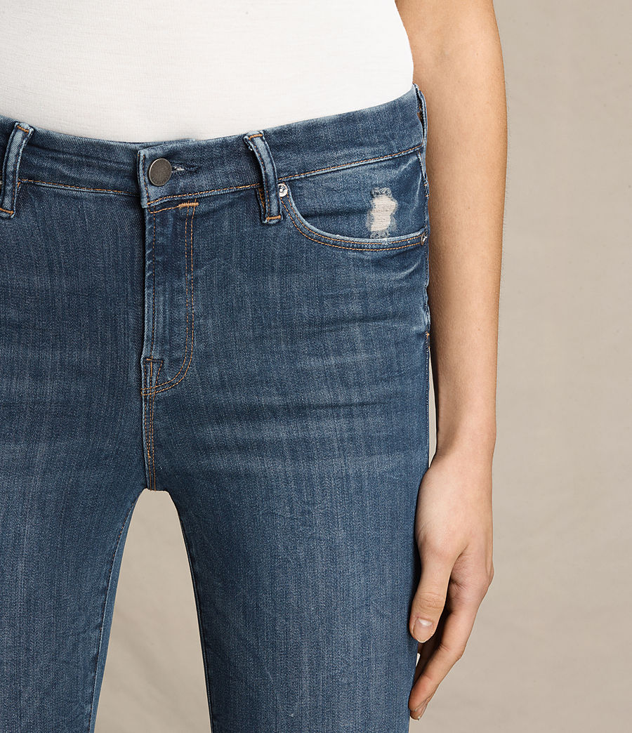 Women's Grace Jeans (dark_indigo_blue) - Image 2