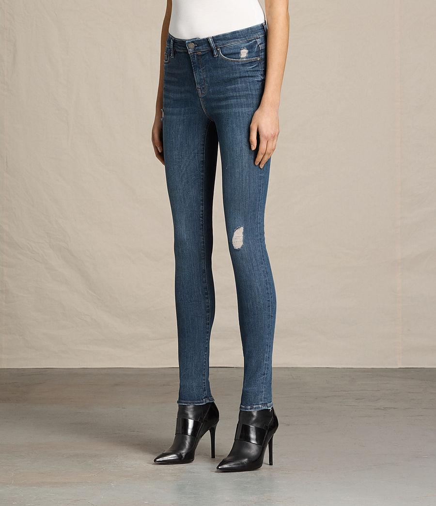 Women's Grace Jeans (dark_indigo_blue) - Image 3