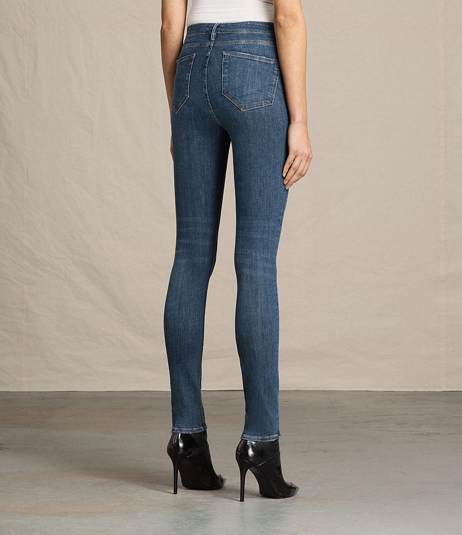 Women's Grace Jeans (dark_indigo_blue) - Image 4