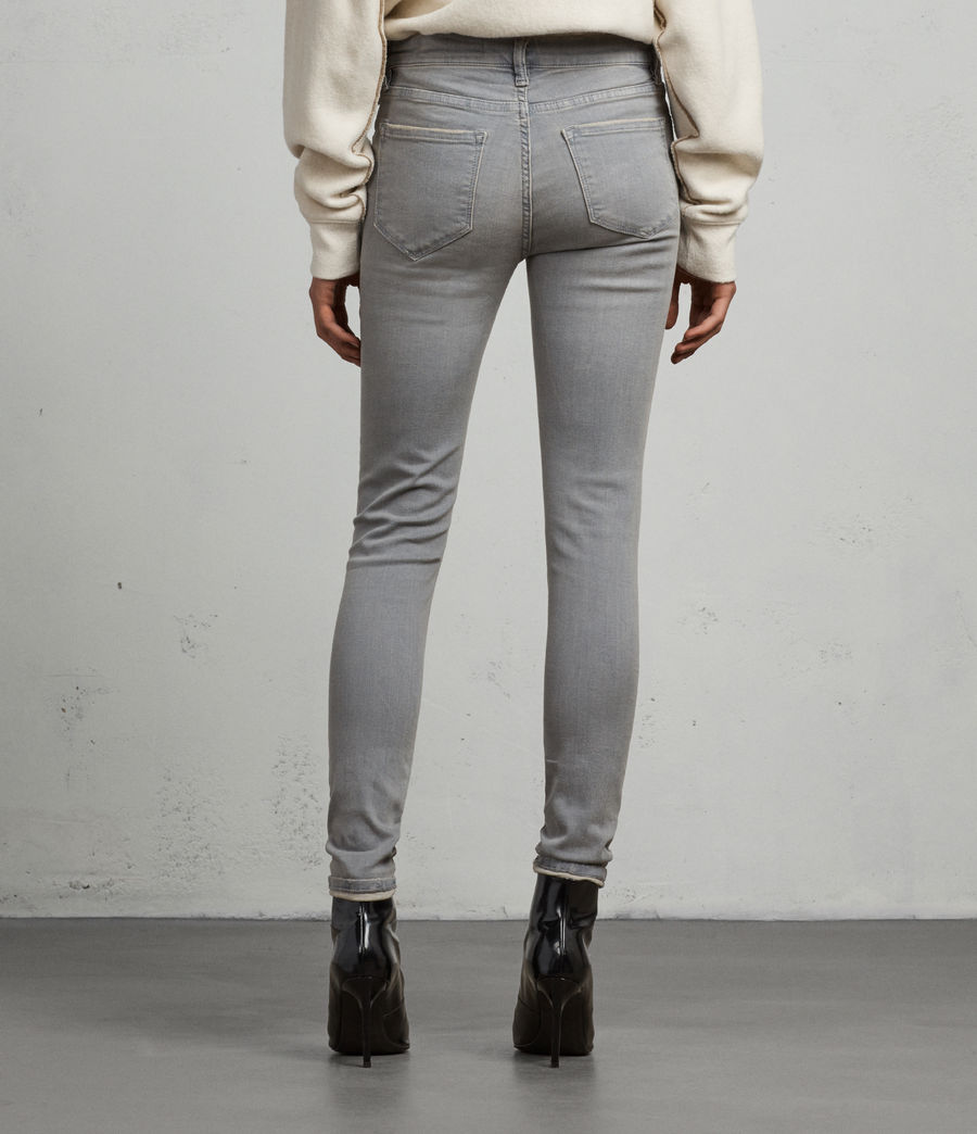 Femmes Jean Grace Slashed (grey) - Image 6
