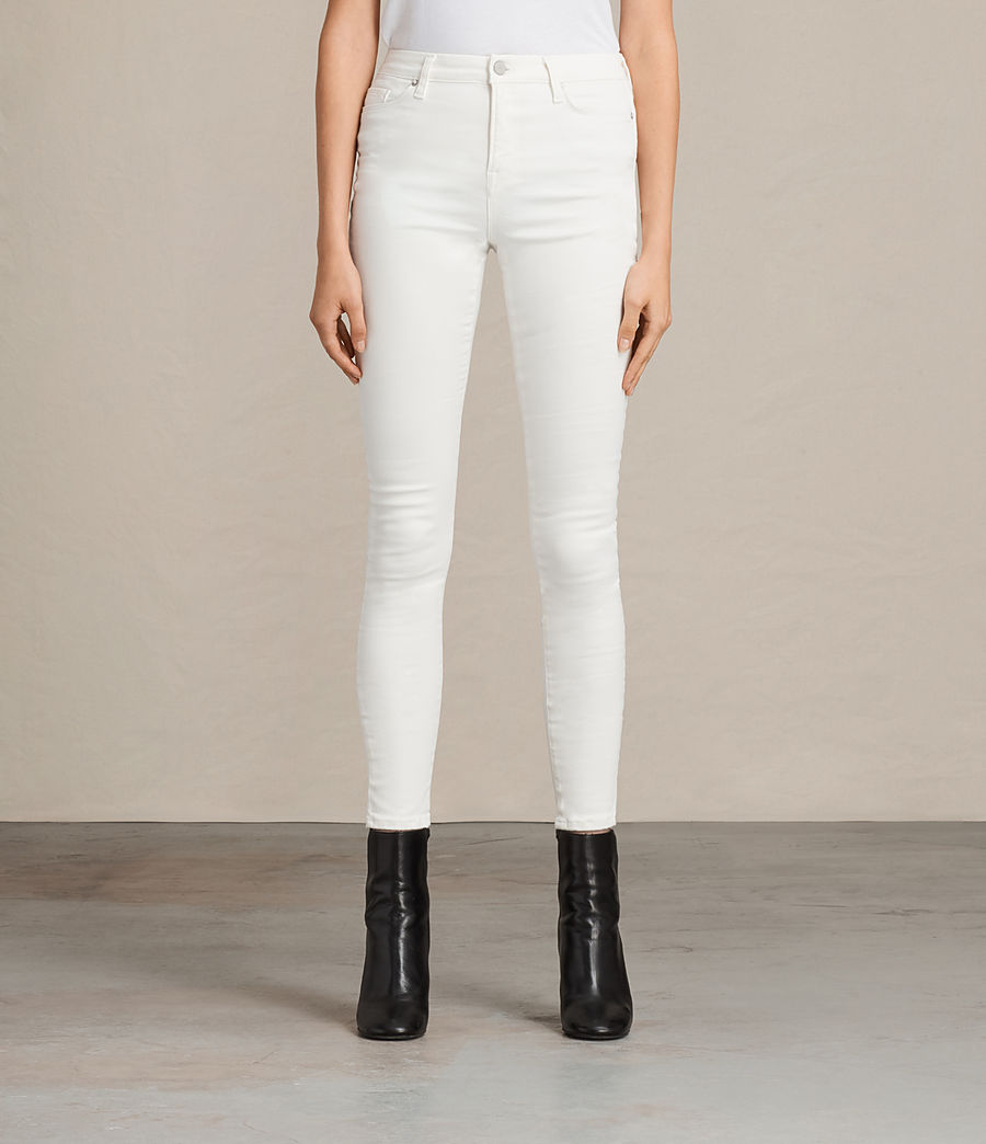 Damen Grace Jeans (white) - Image 1