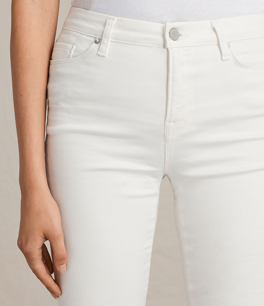 Damen Grace Jeans (white) - Image 2