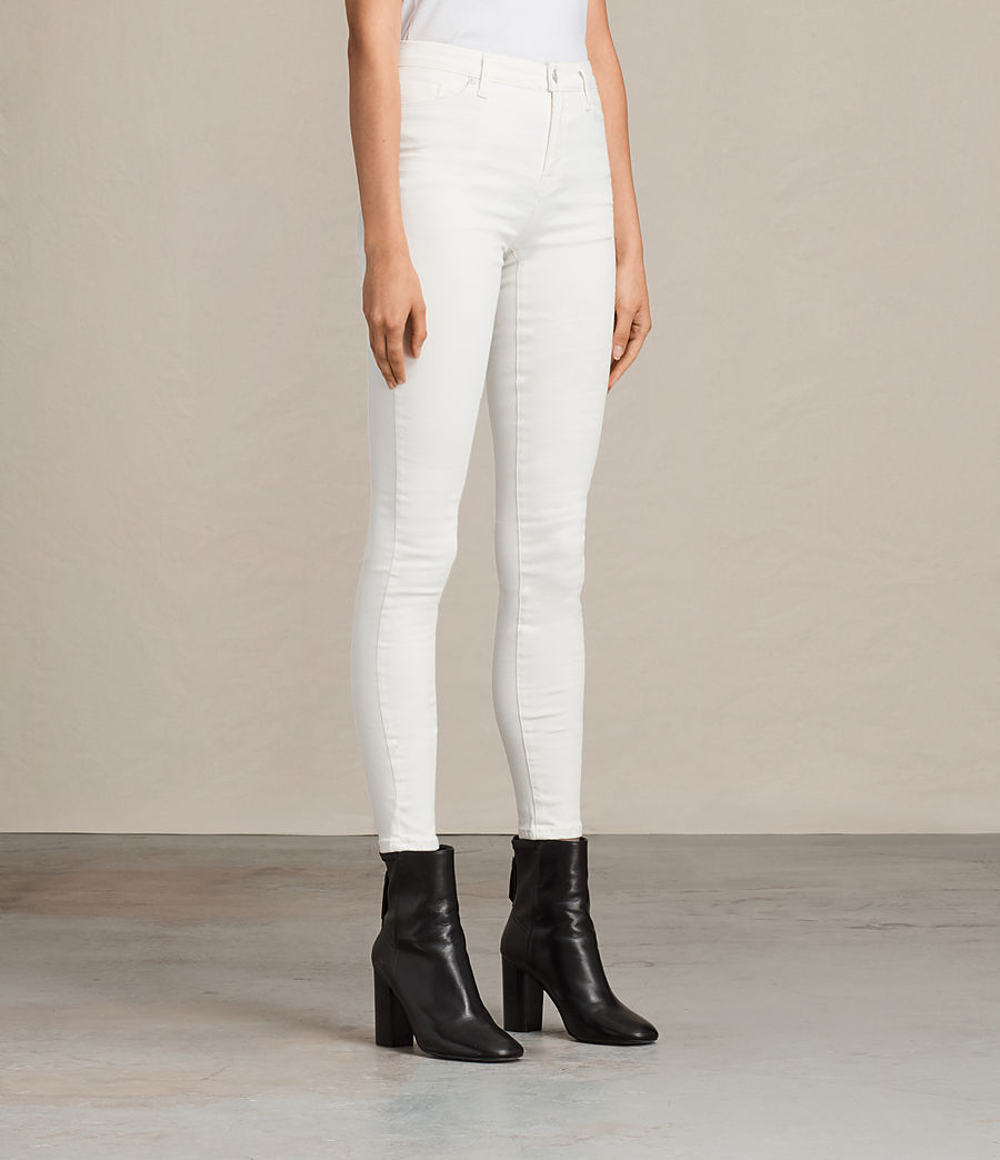 Damen Grace Jeans (white) - Image 3
