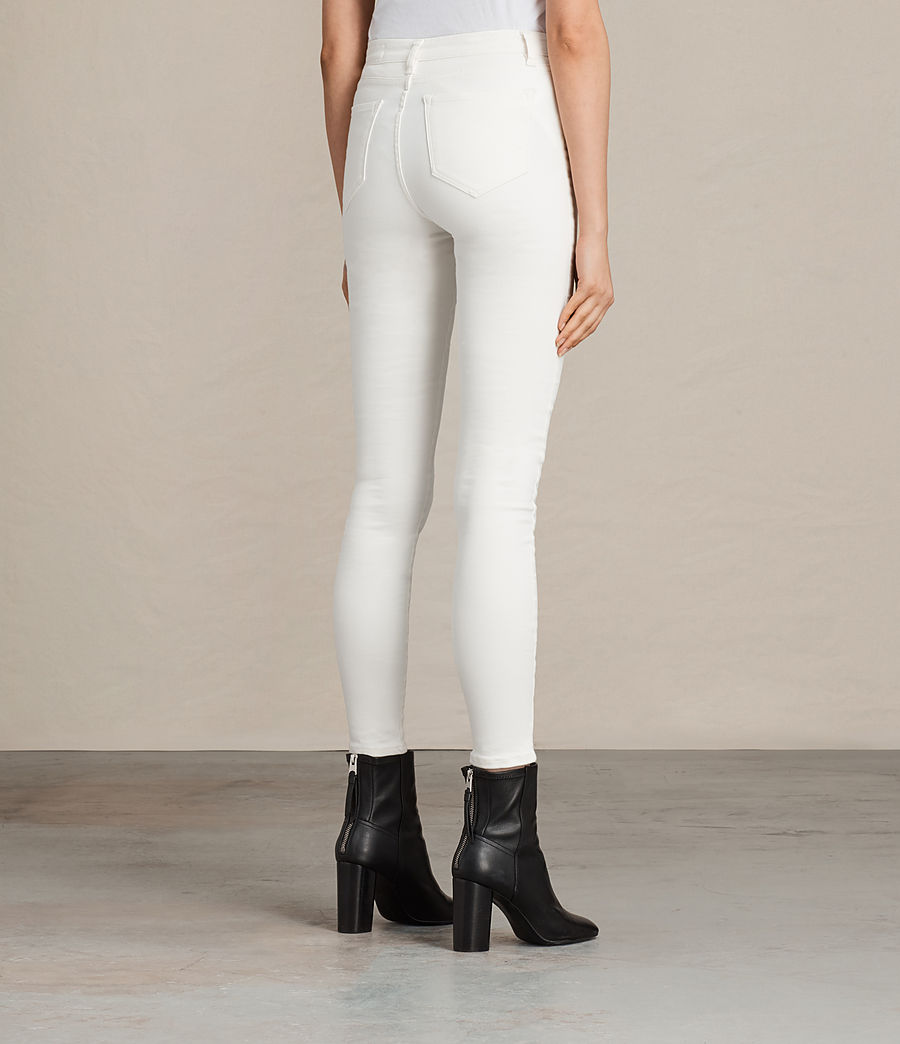 Damen Grace Jeans (white) - Image 4