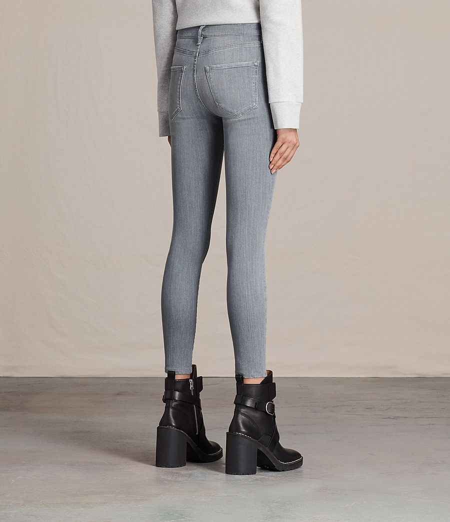 Womens Eve Ankle Jeans (stone_grey) - Image 3