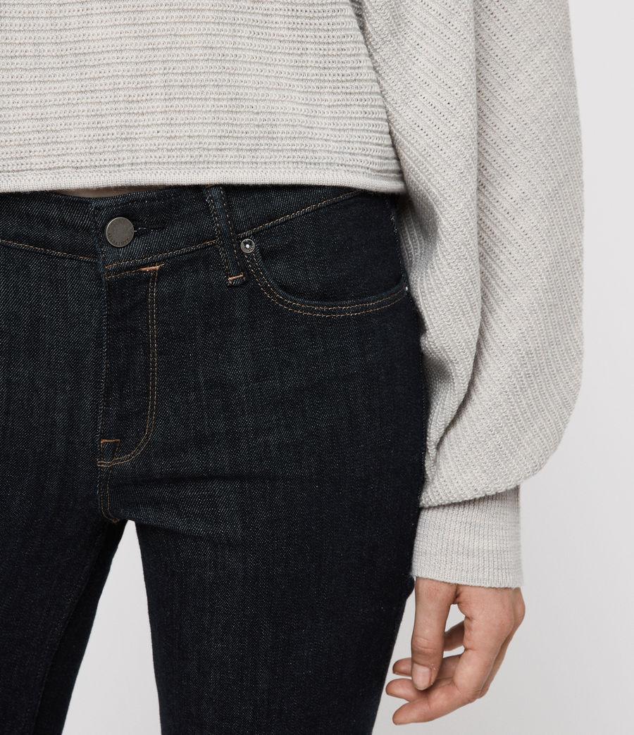 Womens Grace Skinny Jeans (rinse_indigo_blue) - Image 2