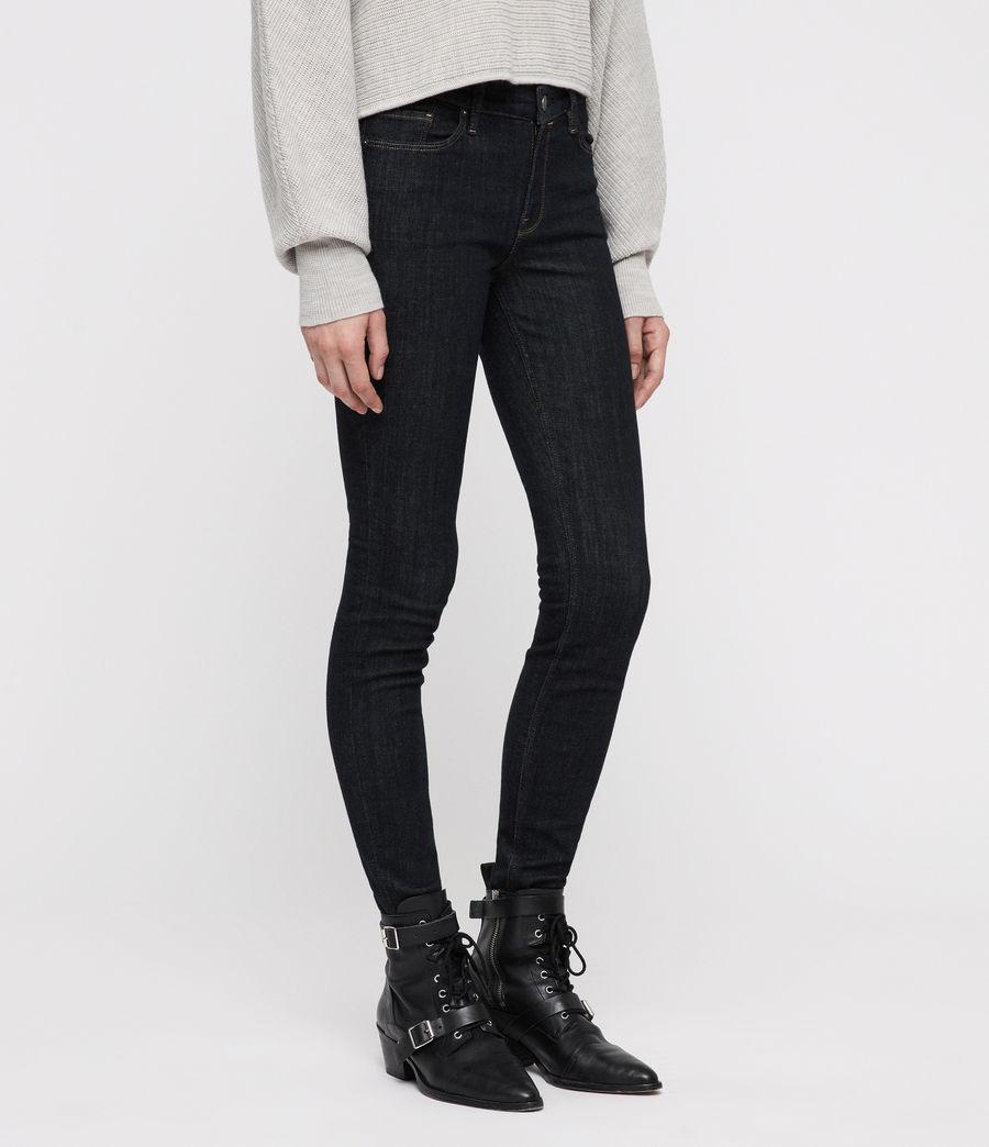 Womens Grace Skinny Jeans (rinse_indigo_blue) - Image 4