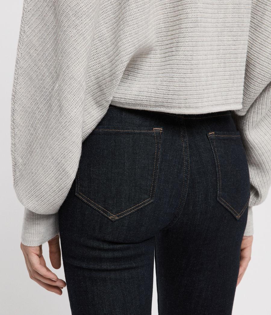 Womens Grace Skinny Jeans (rinse_indigo_blue) - Image 5