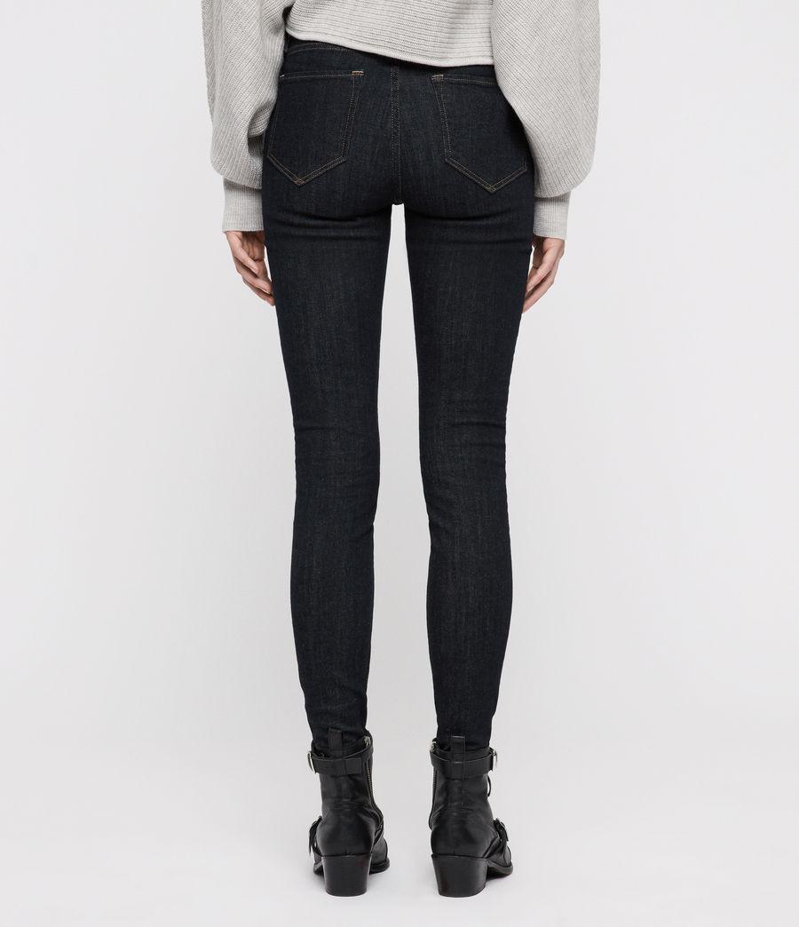 Women's Grace Skinny Jeans (rinse_indigo_blue) - Image 6