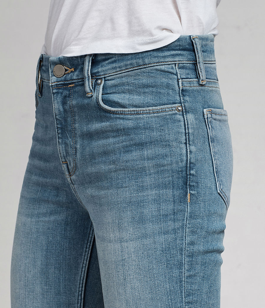 Donne Jeans Grace Ankle Fray (light_indigo_blue) - Image 2
