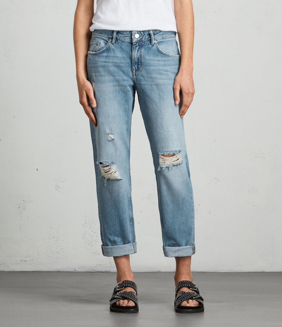 Women's Alana Boys Jean (light_indigo_blue) - Image 1