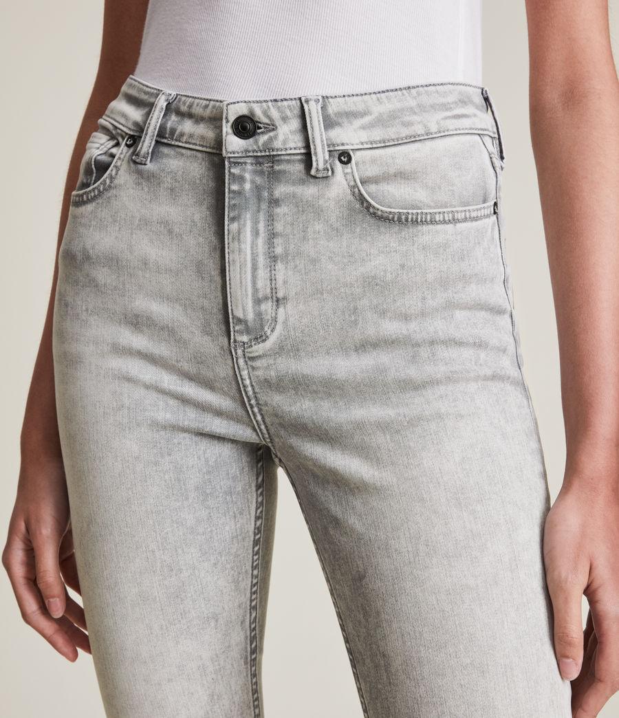 Womens Dax High-Rise Super Stretch Skinny Jeans, Snow Wash Grey (snow_wash_grey) - Image 3