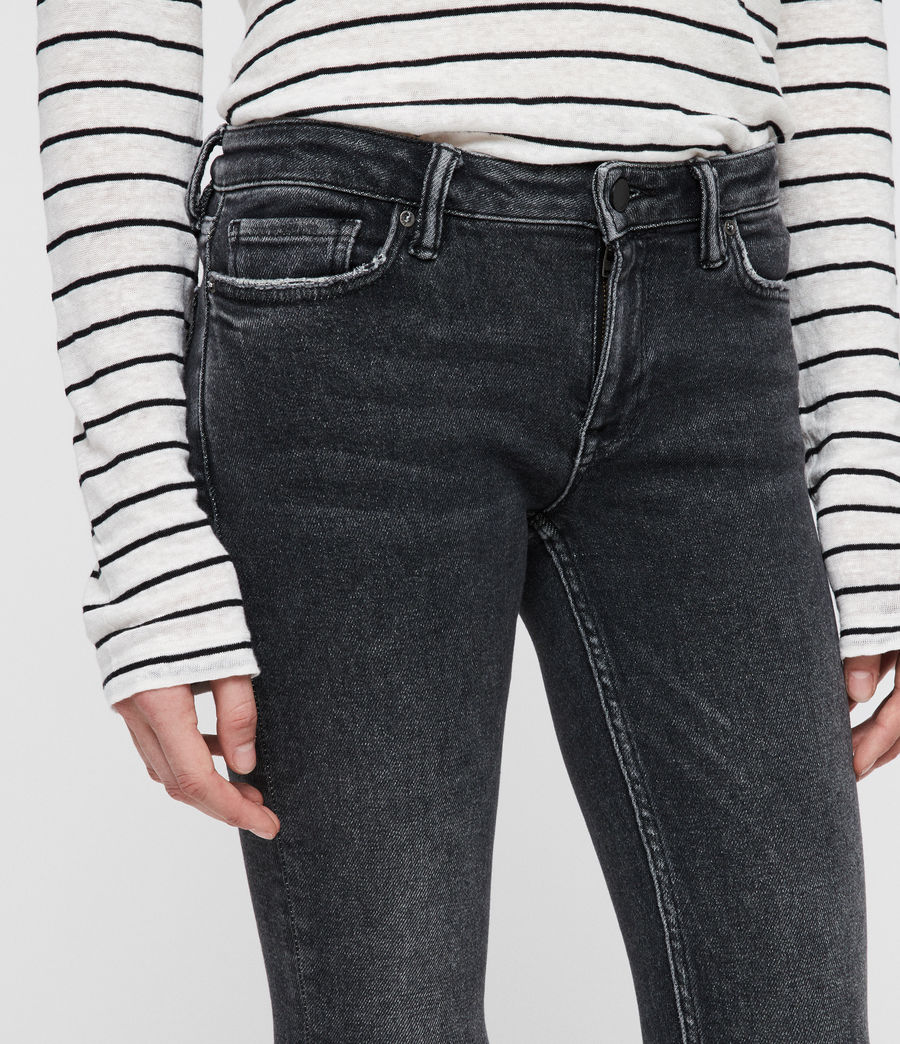 Women's Mast Ankle Ty Jeans (washed_black) - Image 2