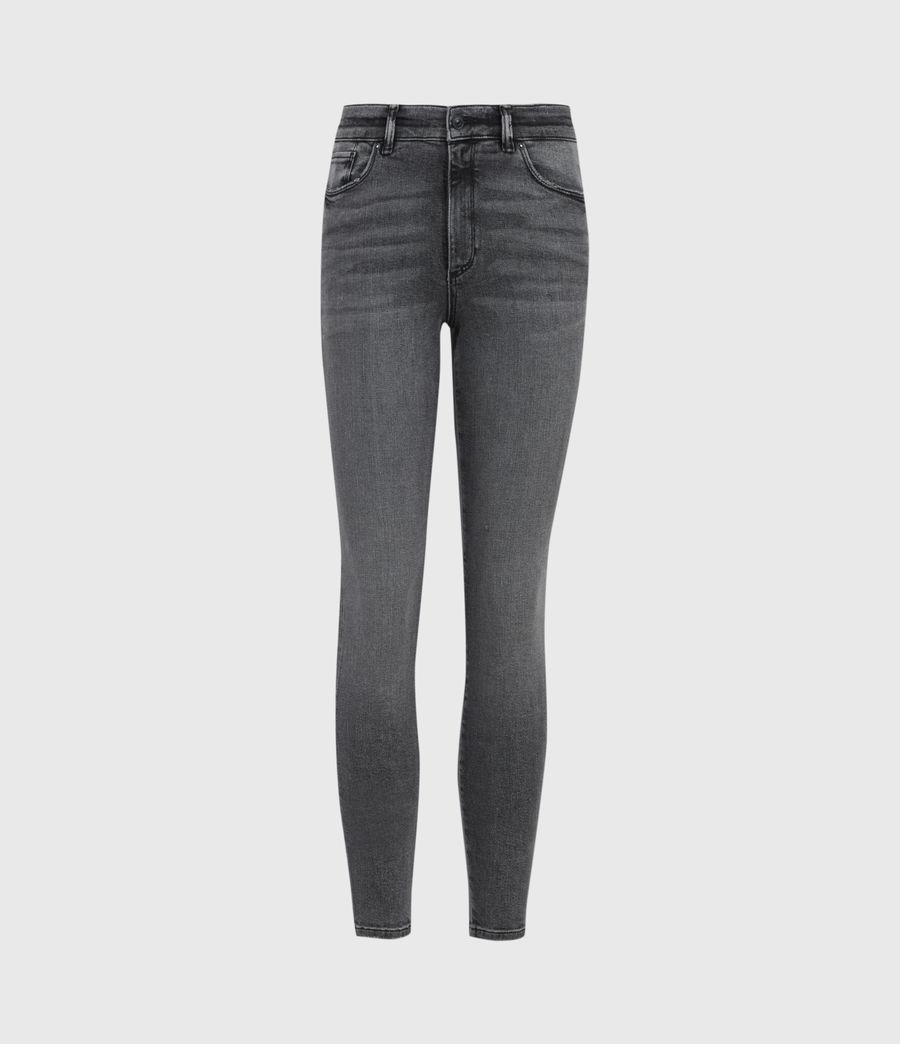 Womens Miller Mid-Rise Superstretch Skinny Jeans, Vintage Black (vintage_black) - Image 2