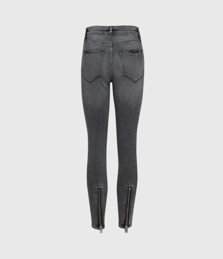 Womens Miller Mid-Rise Superstretch Skinny Jeans, Vintage Black (vintage_black) - Image 3