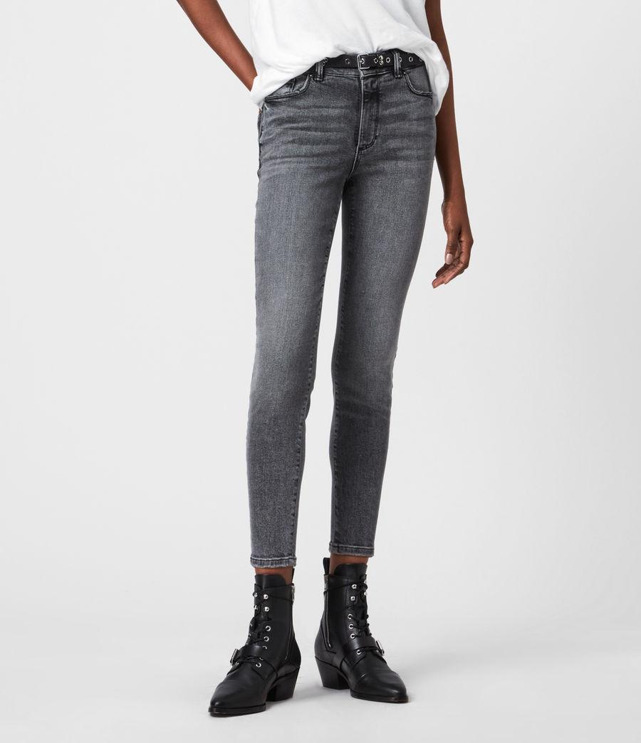 Womens Miller Mid-Rise Superstretch Skinny Jeans, Vintage Black (vintage_black) - Image 4