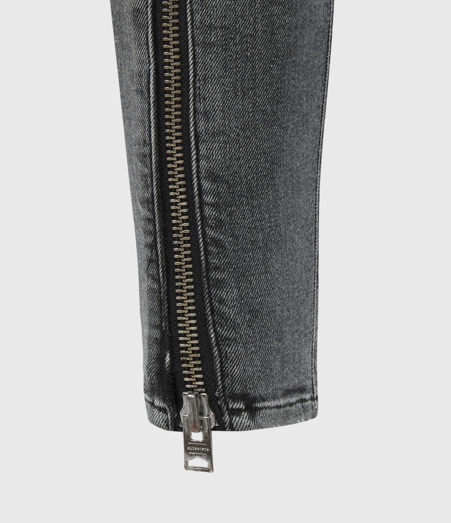 Womens Miller Mid-Rise Superstretch Skinny Jeans, Vintage Black (vintage_black) - Image 6