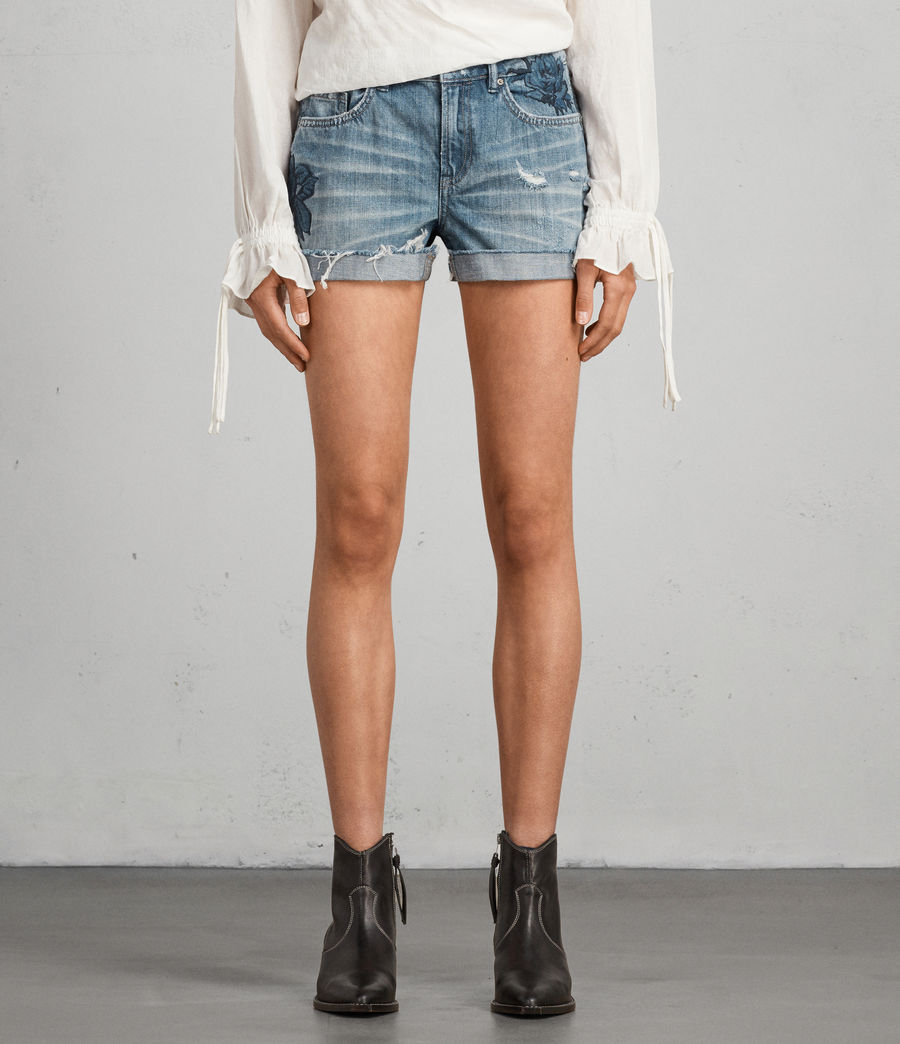 Damen Rose Pam Shorts (indigo_blue) - Image 3
