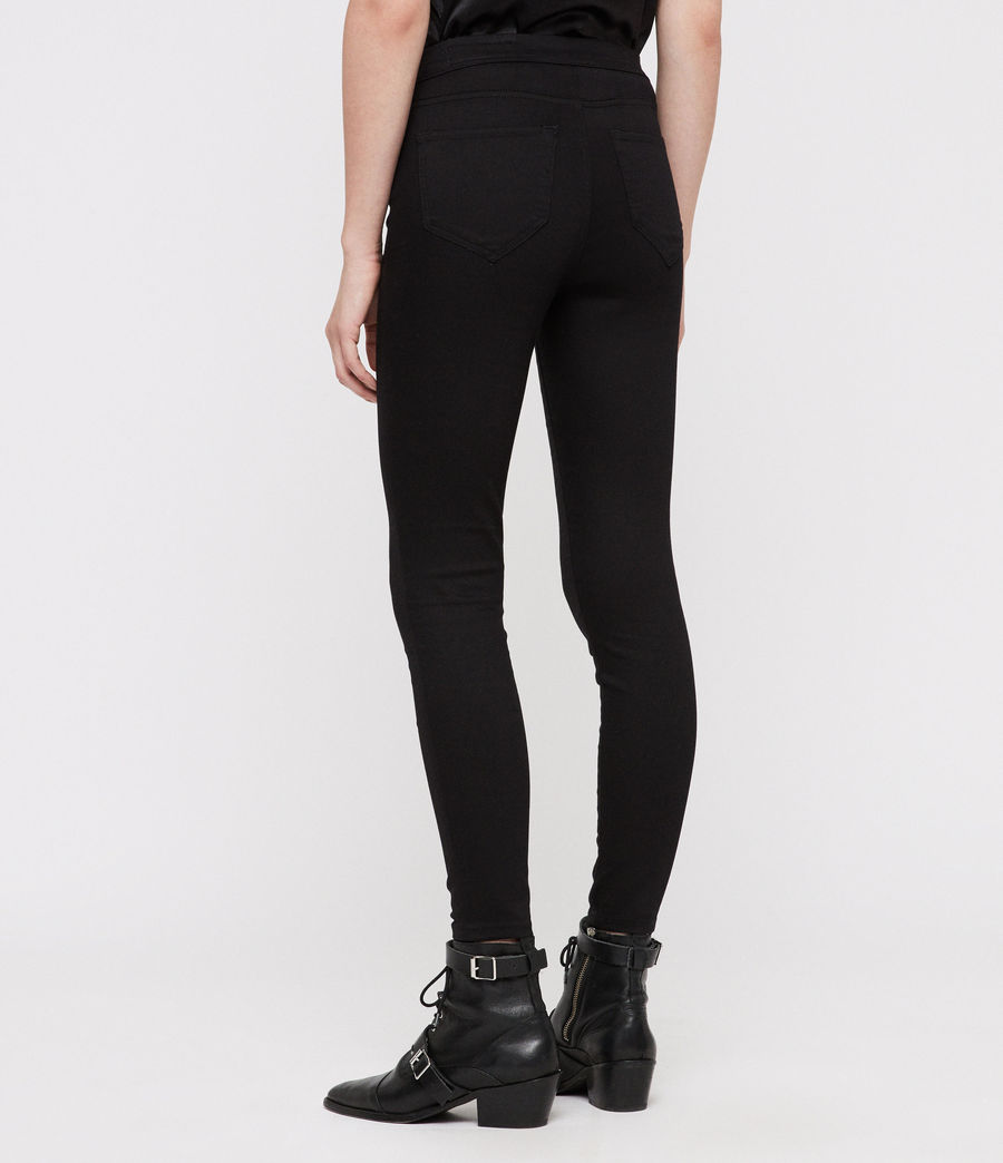 Donne Leggings Joy (black) - Image 5