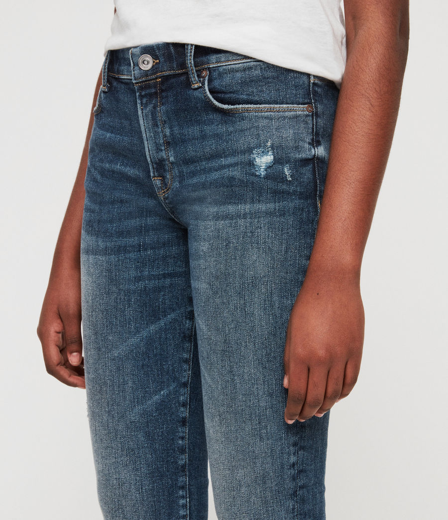 Women's Grace Skinny Jeans (dark_indigo_blue) - Image 2