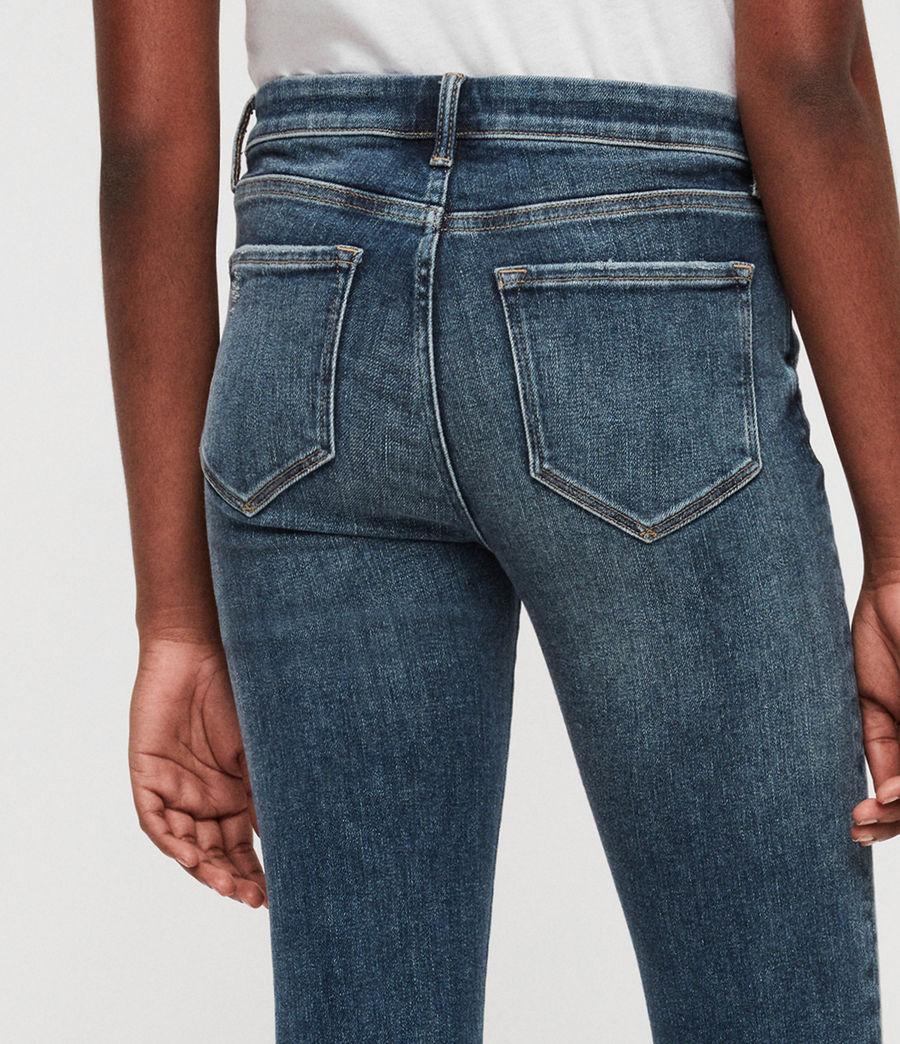 Women's Grace Skinny Jeans (dark_indigo_blue) - Image 4