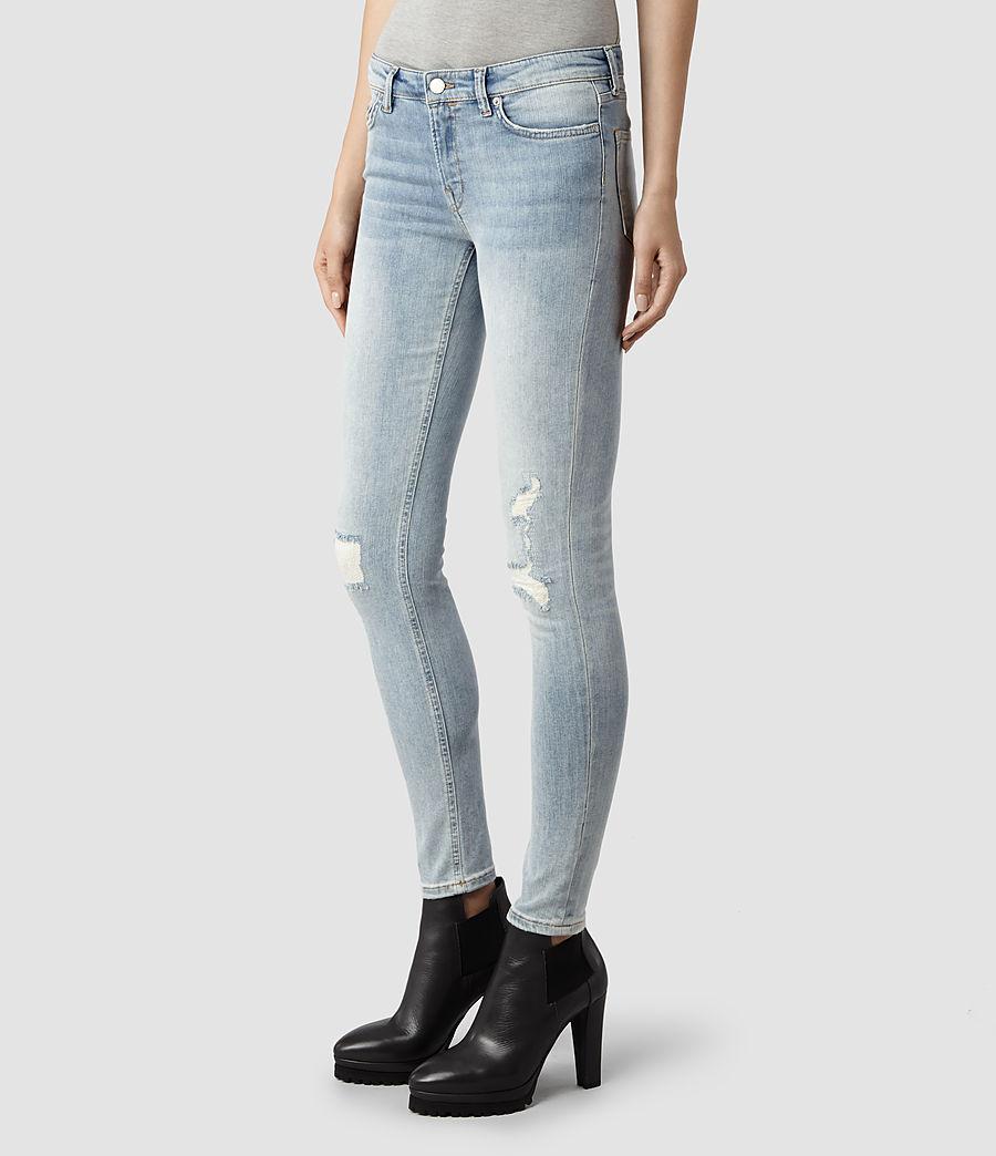 damaged jeans womens - Jean Yu Beauty