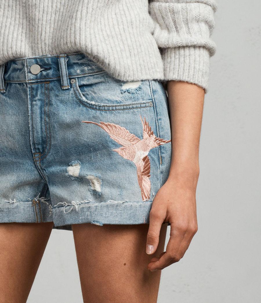 Mujer Shorts Birds Pam (indigo_blue) - Image 2