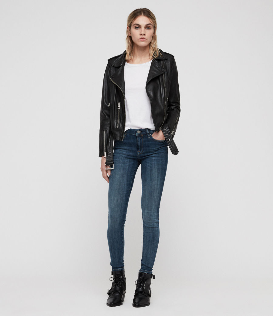 Womens Grace Skinny Jeans (washed_indigo) - Image 3